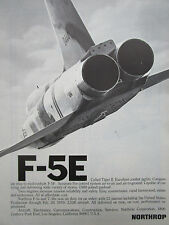 3/1976 PUB NORTHROP F-5E TIGER II INTERNATIONAL FIGHTER US AIR FORCE USAF AD