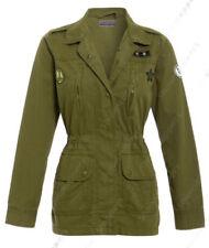 Abrigos y chaquetas de mujer gabardina de lona