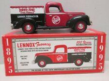 Lennox Furnaces 1940 Ford Ultra Pickup Truck Bank by Liberty Classics