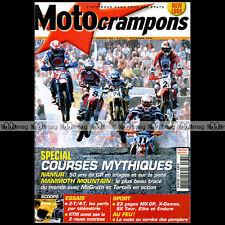 MOTO CRAMPONS N°235 KTM 525 EXC 2X2 DE COSTER STEFAN EVERTS HONDA XR 400 2004