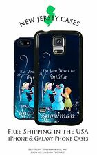 Disney Frozen Elsa and Anna Young Build a Snowman Scene iPhone & Galaxy Case