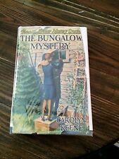 The Bungalow Mystery/Nancy Drew/Keene-Farah 1947A-36 to 1948D-39/DJ/HC