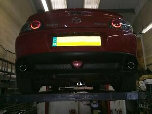 MAZDA RX8 CAT BACK, CUSTOM STAINLESS STEEL EXHAUST