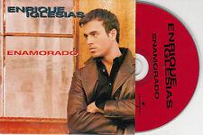 CD CARTONNE CARDSLEEVE 2T ENRIQUE IGLESIAS ENAMORADO 1997 EUROPE