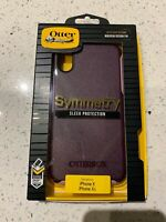 NEW OtterBox Symmetry Series Case for Apple iPhone XS XR Purple FAST SHIPPING