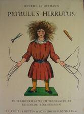 Struwwelpeter in Latein - Petrulus Hirrutus - altes Kinderbuch 1956 - lateinisch