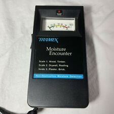 TRAMEX Moisture Encounter Non-Destructive Moisture Detection w/ Soft Case Tested