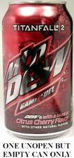 Mountain Dew Call of Duty TitanFall 2 Game Fuel Cherry Citrus 2016 EMPTY UNOPEN