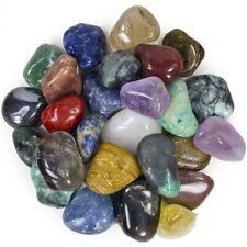 "Natural Tumbled Brazilian Stone Mix - 25 Pcs - Medium Size - 1"" to 1.5""Avg"
