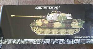 MINICHAMPS 1:35 PANZERKAMPFWAGEN VI TIGER II 222 ARDENNES OFFENSIVE 1944 BOXED