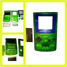 Austausch Ersatzteile Passend für Gameboy Color GBC Gehäuse grün blau Display