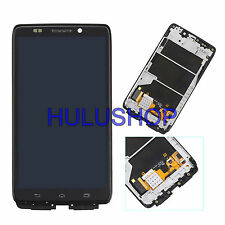 For Motorola Droid Ultra XT1080 MAXX 1080M LCD Touch Screen Digitizer W/Frame US