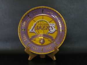 """LA Lakers Collector's Plate """"History of Winning"""""""