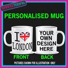 I LOVE HEART LONDON ENGLAND UK COFFEE MUG GIFT