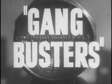 Gang Busters Classic 1950s TV Crime Drama on DVD