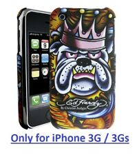 Ed Hardy King Dog Tattoo Phone Case Protector for iPhone 3G/3GS