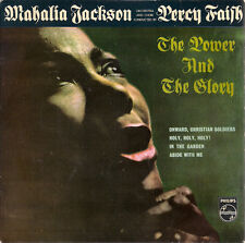 "Mahalia Jackson The Power And The Glory UK 45 7"" EP +Picture Sleeve"