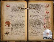 Metamorphoses - Neapolitan Ovid Created 1000 - 1200 AD Bari Codex  Manuscript