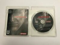 Metal Gear Solid 4: Guns of the Patriots PS3 W/ Case & Manual! Great Condition!