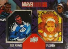 2017  Marvel Annual DUAL COMIC PATCH Card  SPECTRUM & BLUE MARVEL DCP- 3