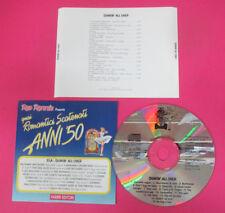 CD Compilation Romantici Unleashed Anni'50 SHAKIN'à l' OVER Cas no lp (C29)