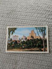 Portion Of San Diego, CA Skyline El Cortez Hotel And Spreckels Building Postcard