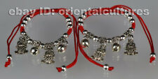 silver bracelet/anklet (one pair) Tribal exotic chinese handmade miao