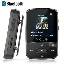 Running Sport Clip Mp3 Player Gym Music Bluetooth 8gb Voice Recorder FM Radio UK