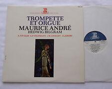 Maurice ANDRE - Hedwig BILGRAM Trompette & Orgue FRANCE LP ERATO STU 70488 - NM