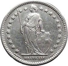Pièces de monnaie françaises de 2 francs en argent