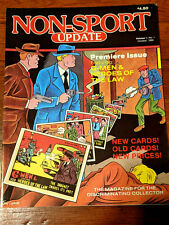 Non-Sport Update Volume 1 Number 1 - October 1990