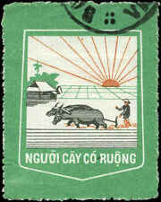 Vietnam Farming Label  Used