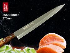 "Handmade Chef's Sashimi Knife Fillet 10.6"" Single Bevel Slicer Cookware Cutlery"
