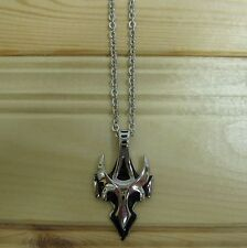 Cross high quality stainless steel biker punk pendant & necklace