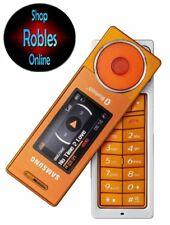 Samsung SGH X830 Orange (Ohne Simlock) Mini Handy Kamera MP3 Rarität GUT OVP