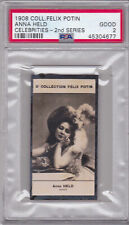 1908 Felix Potin Anna Held Card PSA 2 GOOD