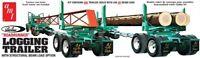 AMT Peerless Logging Trailer 1:25 scale model kit new 1103 *