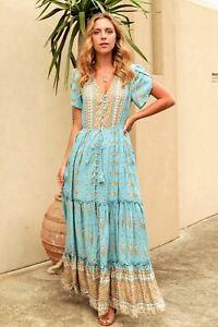 Naya Cap Sleeve Maxi Dress