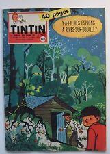 JOURNAL DE TINTIN N° 546 AVRIL 1959 - MICHEL VAILLANT - CHICK BILL - DAN COOPER