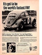 1967 VW / VOLKSWAGEN BEETLE / EMPI  ~  ORIGINAL CHAMPION PRINT AD