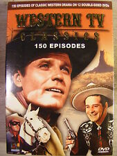 Western TV Classics (DVD, 2007) 150 Episodes BRAND NEW!