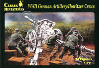 CAESAR MINIATURES 1/72 - H084 WWII German Artillery/Howitzer Crews - SOLD OUT
