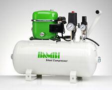Bambi BB24D Compressor - Silent Air - Budget Range (24 Litres, 1 HP)