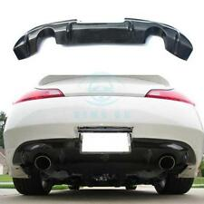 Carbon Lip Fit For Inifiniti V36 G25 G35 G37 Q60 2007-15 Coupe Rear Diffuser