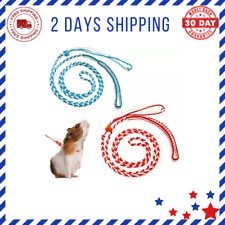 2Pcs Small Animal Harness Leash Adjustable Walking Rope for Hamster, Rat, Ferret