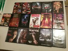 Halloween Horror dvd lot of 21 Movies Scary Zombie Gore Freddy Jason Howl #1