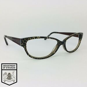 KAREN MILLEN eyeglasses LEOPARD BROWN CATS EYE glasses frame MOD: KM 34 25437676