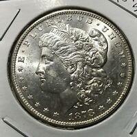 1878-S MORGAN SILVER DOLLAR BRILLIANT UNCIRCULATED COIN
