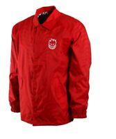 SPITFIRE Men's BIGHEAD SWIRL Shell Coach Jacket - Red - XL - NWT