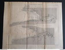 ANNALES PONT et CHAUSSEES (ESPAGNE) - Baie et rivière de Bilbao - 1890
